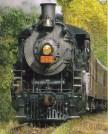 "2-8-2 ""Mikado"" Type Steam locomotive"