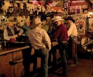 Cowboys at the Rusty Spur in Scottsdale, AZ