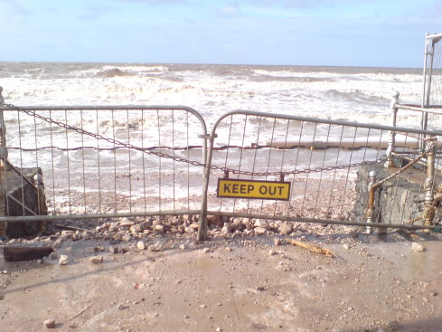 """""""Keep Out"""" - Full Tide"""