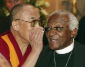 The Dalai Lama and Desmond Tutu