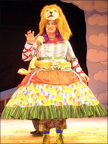 Pantomime Dame