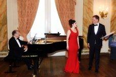 Evening recital at Cercle Gaulois with Wilfried Van den Brande and Daniel Blumenthal, June 2015