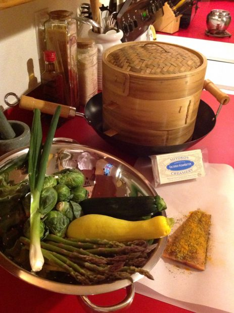 Making Meals with my Bamboo Steamer