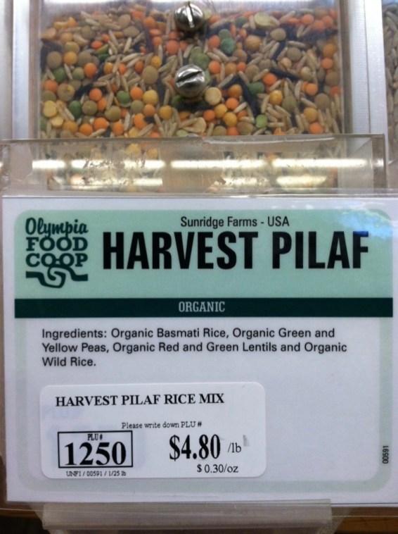 Harvest Pilaf - Sunridge Farms