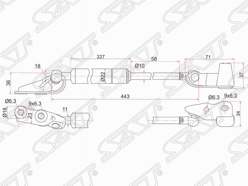 Кузовные детали и Оптика на Toyota Ipsum 2001-2003