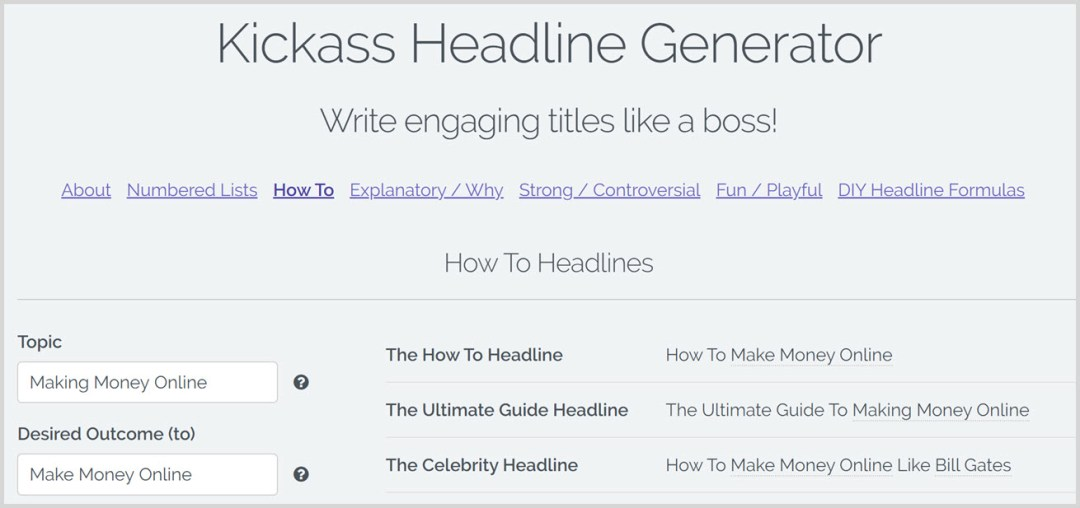best free blog title generators