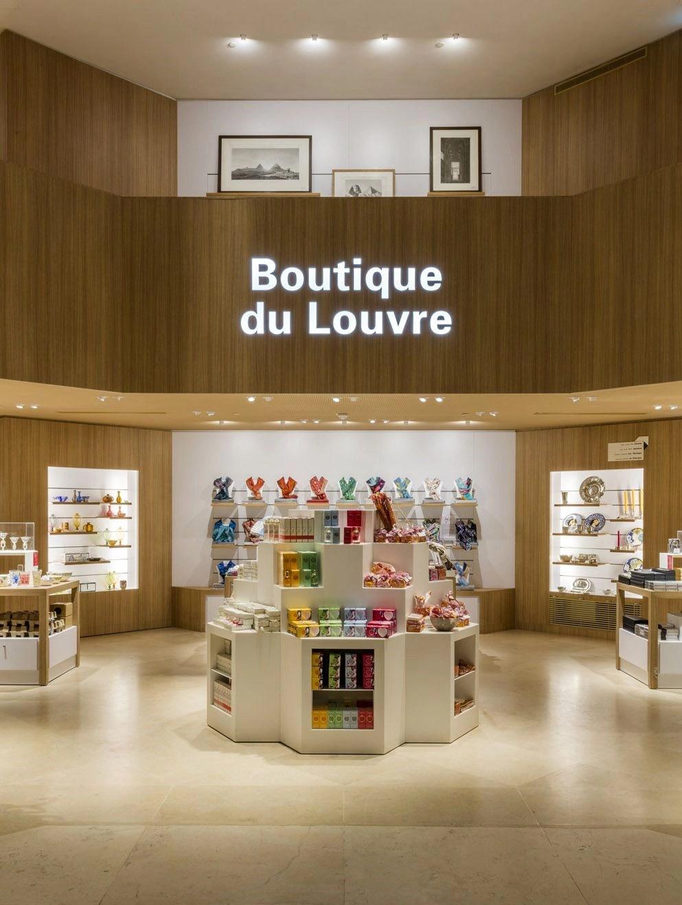 Louve Gift Shop : louve, Visit, Visitor, Amenities
