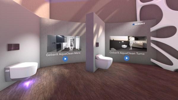 Geberit Virtual Reality Showroom Bandara