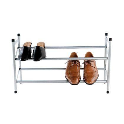 etagere range chaussures argent unique