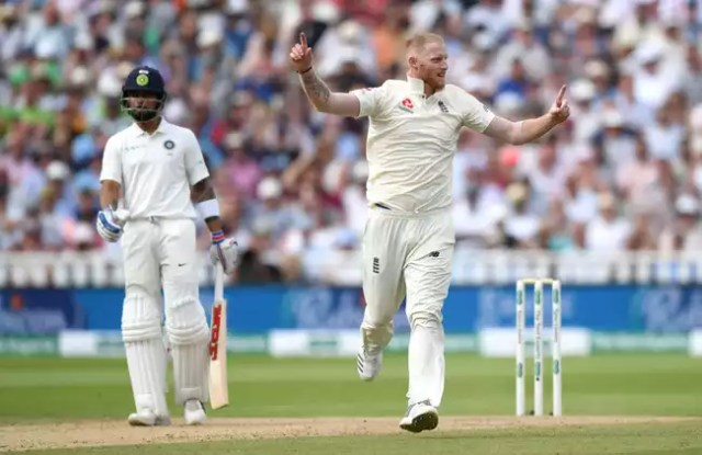 India were reduced to 46 for 3 with Stokes removing Rahul cheaply.