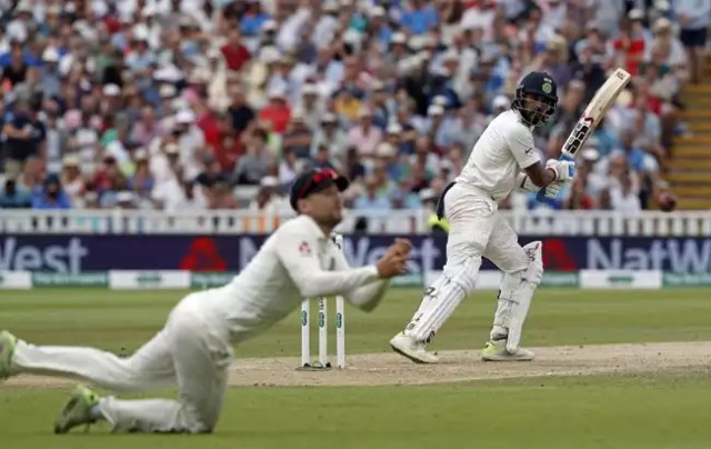 Dawid Malan dropped his third catch of the Test, this time of Murali Vijay in the second innings.
