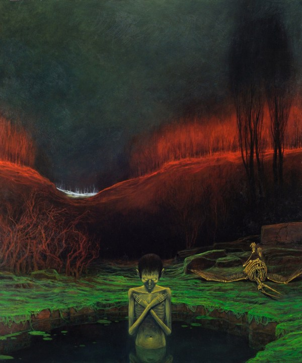 Cursed Paintings Of Zdzisaw Beksiski Article
