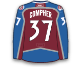 JT Compher's Jersey