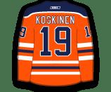 Mikko Koskinen's Jersey