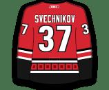Andrei Svechnikov's Jersey