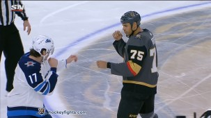 Ryan Reaves vs. Adam Lowry
