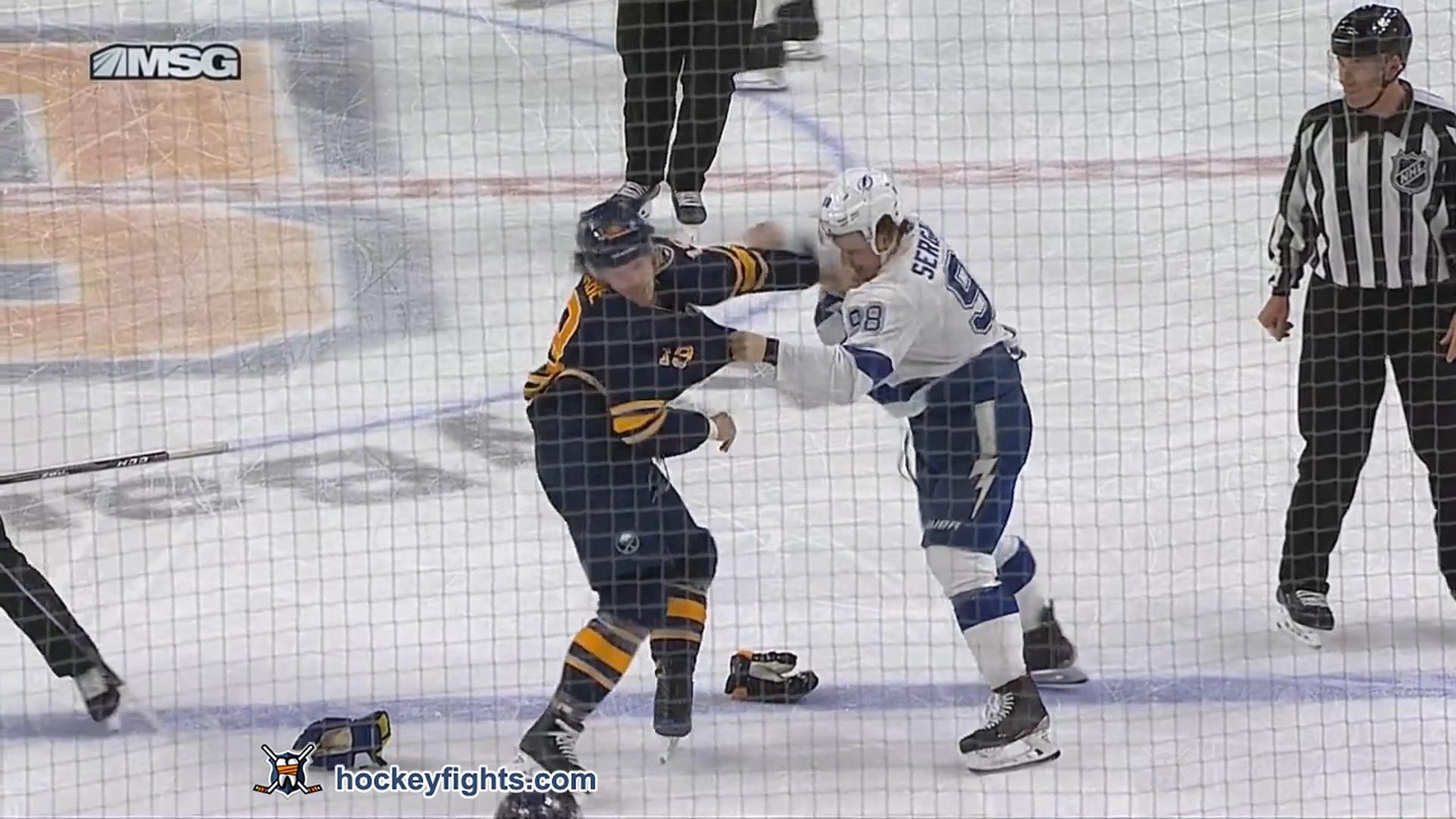 Mikhail Sergachev vs Jake McCabe