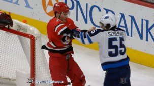 Brett Pesce vs. Mark Scheifele
