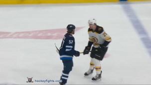 Gabriel Bourque vs. Brandon Carlo