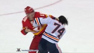Matthew Tkachuk vs. Ethan Bear