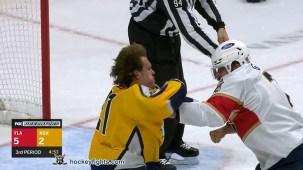 Nick Cousins vs. Radko Gudas