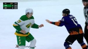 John Hayden vs. Marcus Foligno