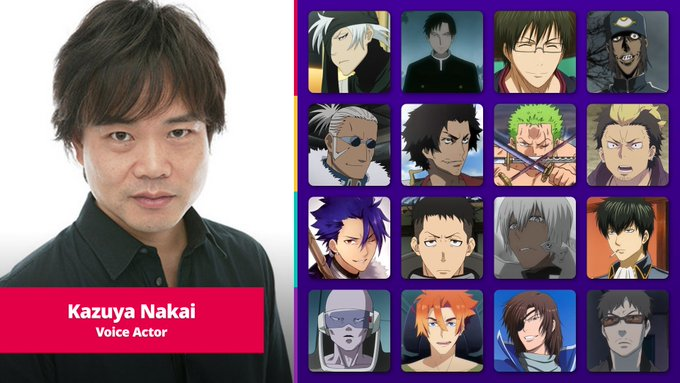 Take a visual walk through their career and see 199 images of the characters they've voiced and listen to 5 clips that showcase their performances. Roronoa Zoro S Voice Actor From One Piece Playing As The Voice Actor In Ghost Of Tsushima Dunia Games