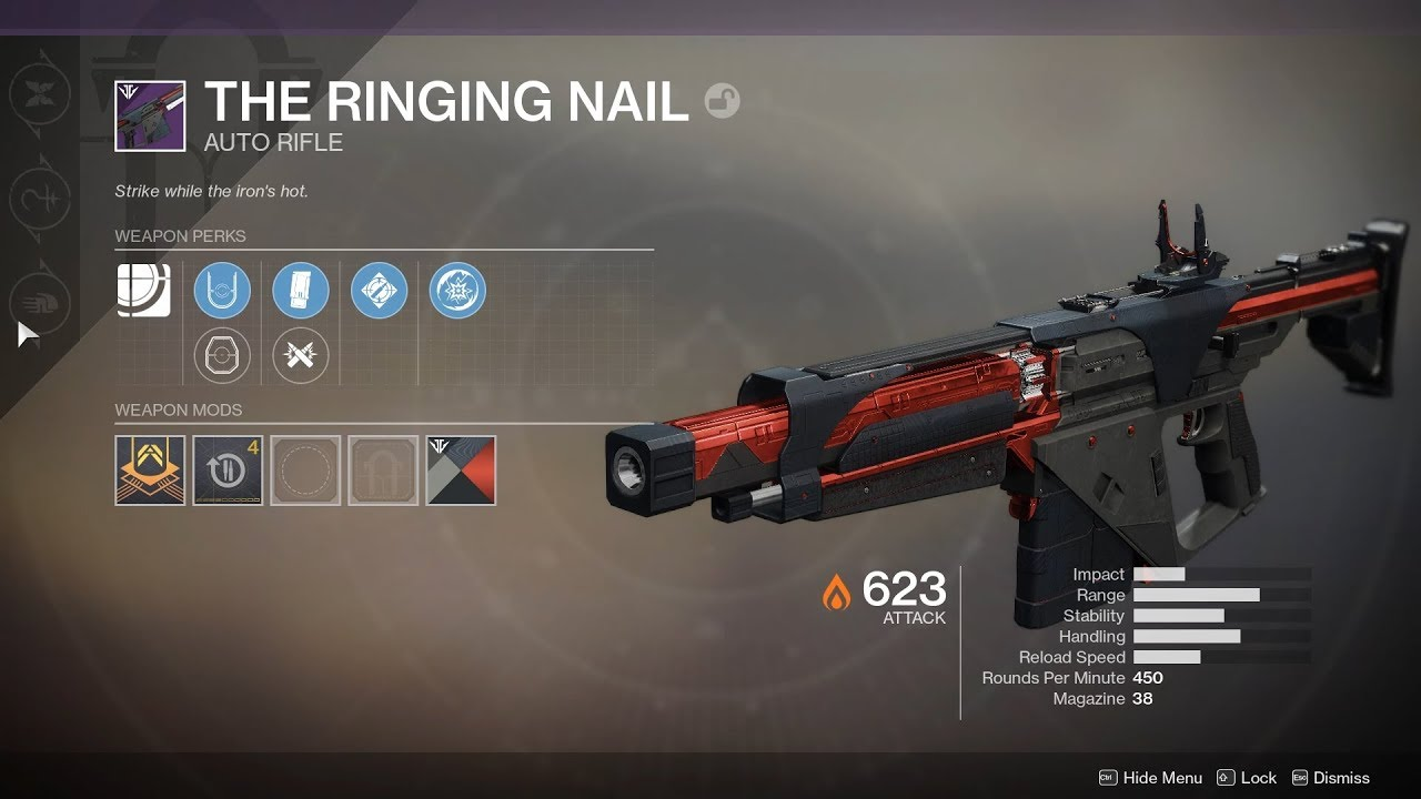 Hammerhead Machine Gun Volundr Forge Unlock Destiny 2