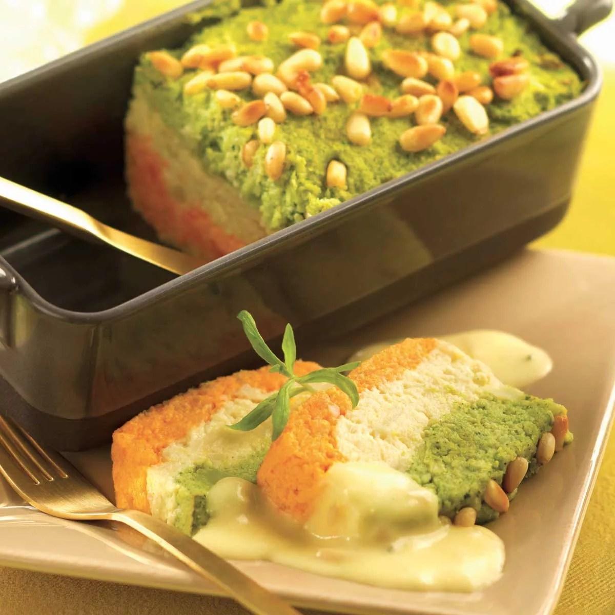 Terrine de carottes et brocolis  une recette Entre amis  Cuisine  Le Figaro Madame