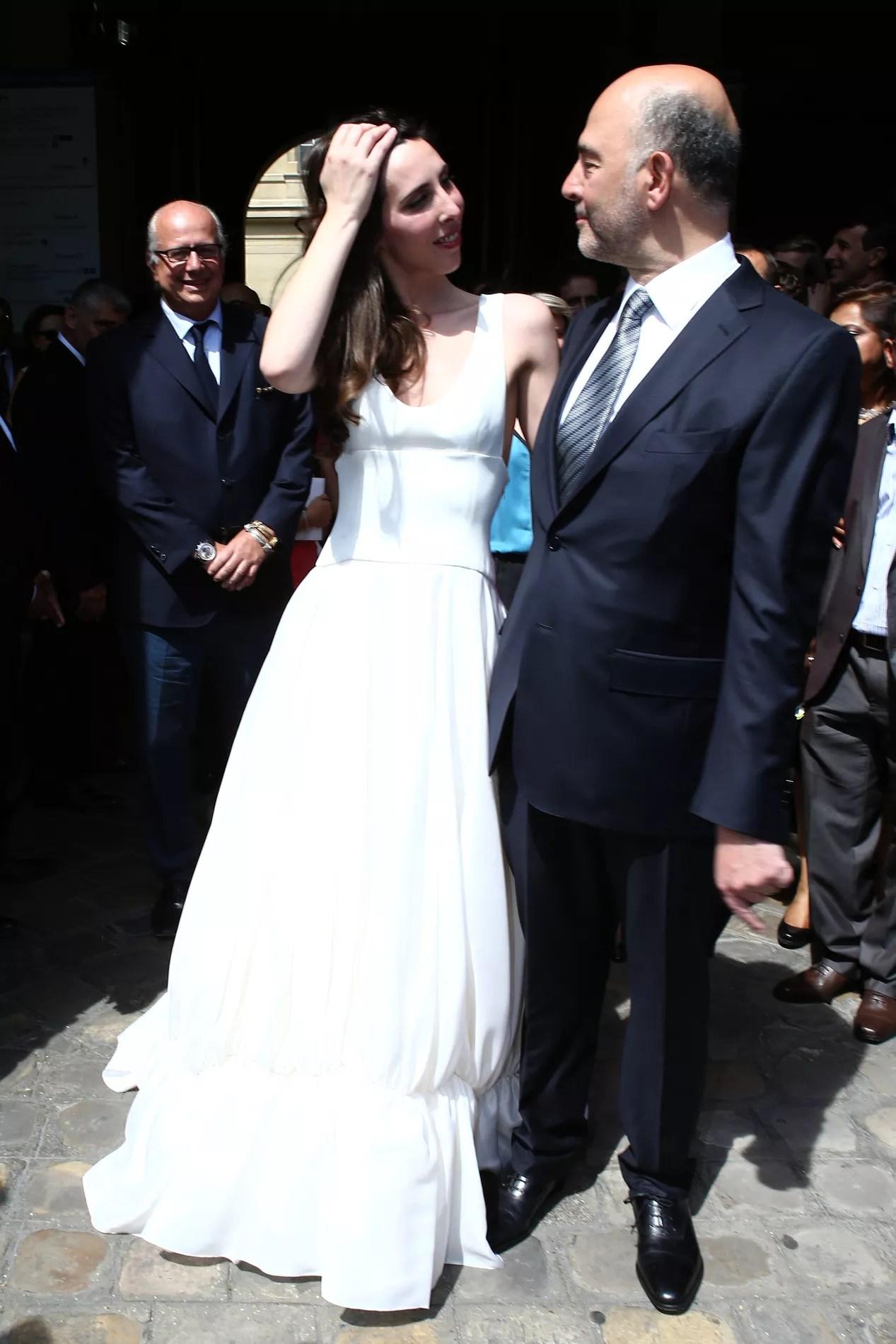 Pierre Moscovici Et Anne Michelle Basteri Se Sont Maris