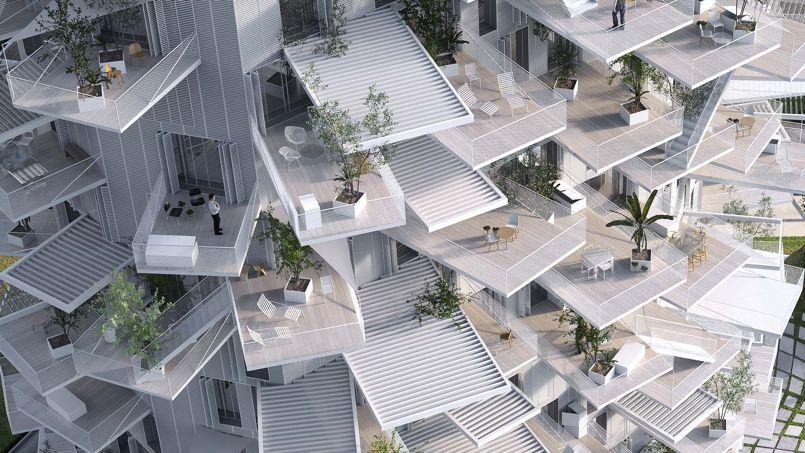 Architecture les folles constructions de Sou Fujimoto