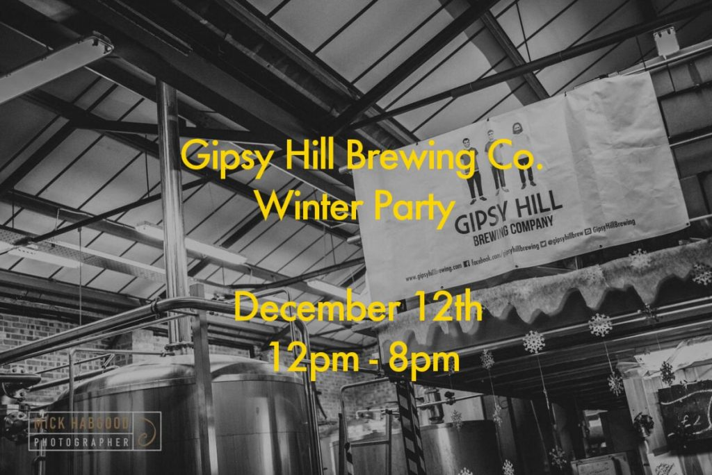 Winter Party at Gipsy Hill Brewery image