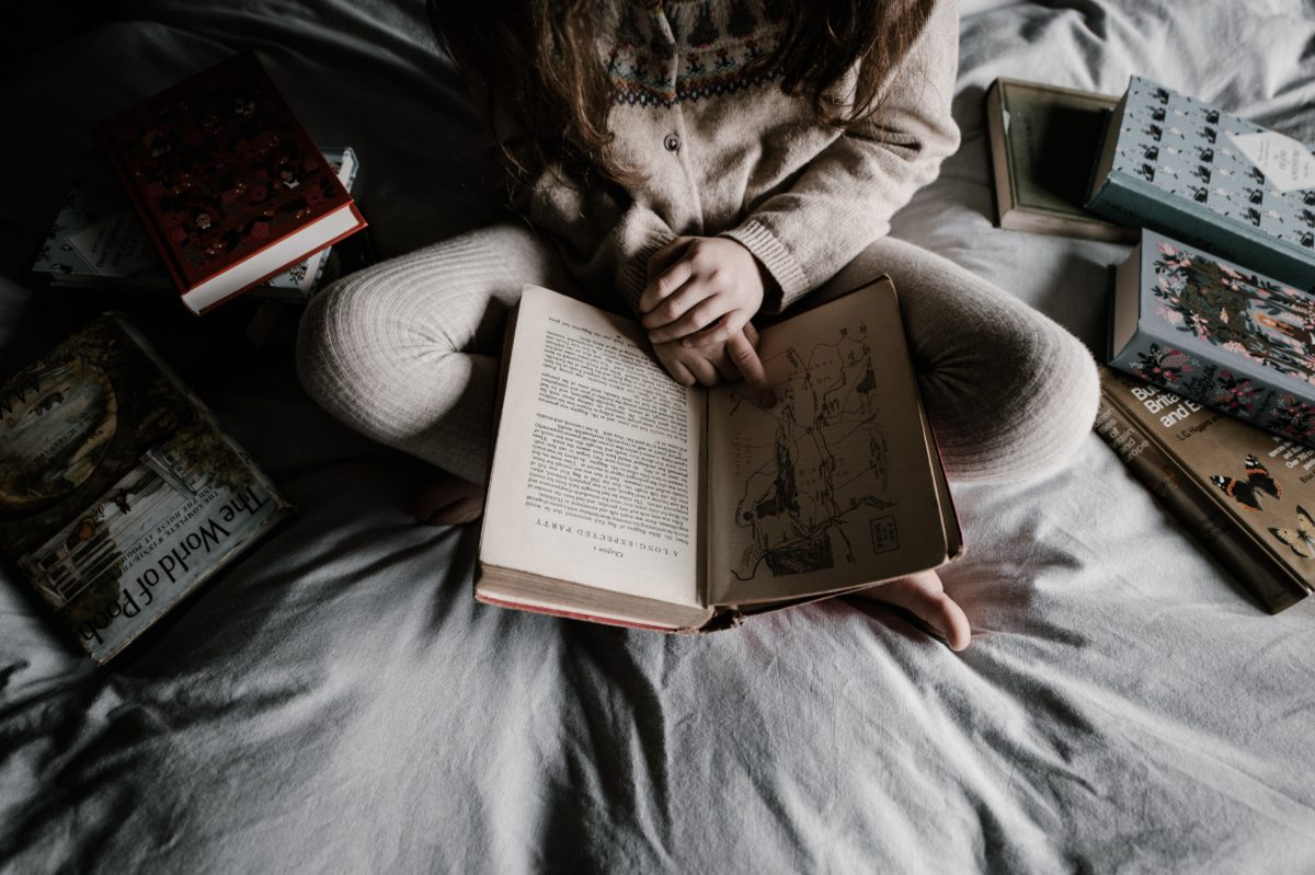 One key to happiness is finding more time to read.