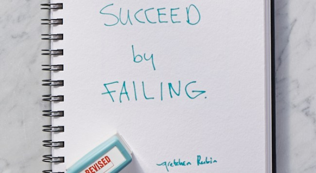 Secret of Adulthood: Succeed by Failing