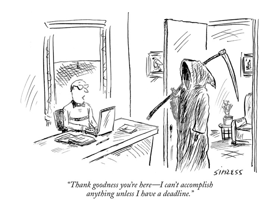 This New Yorker Cartoon Expresses a Big Idea in a Very Brief Way.