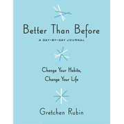 Better Than Before Journal
