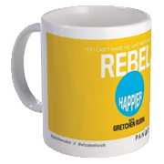 Happier with Gretchen Rubin Mug – Rebel