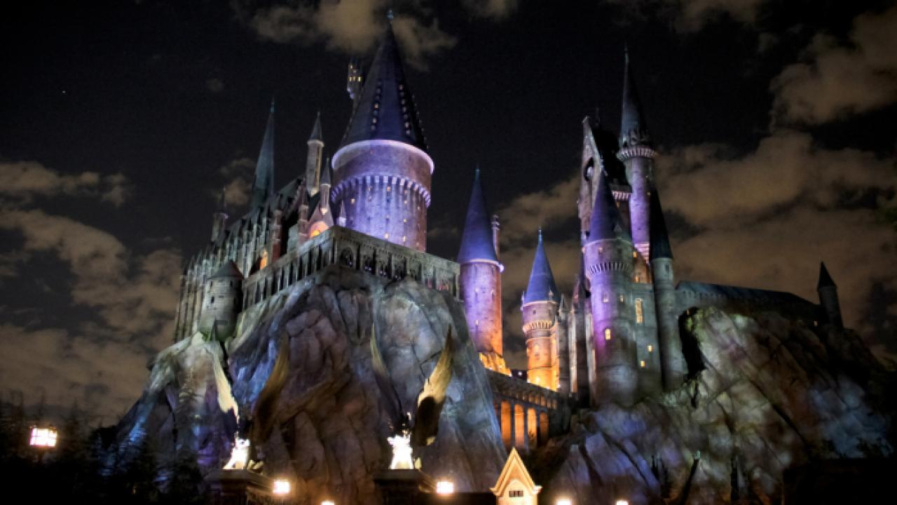 """A Little Happier: The Idea of """"Negative Space"""" at the Wizarding World of Harry Potter."""