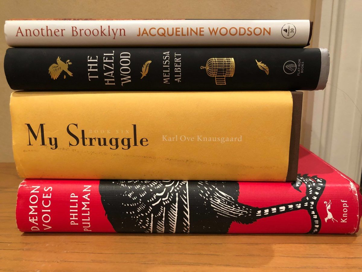 What I Read This Month: November 2018.