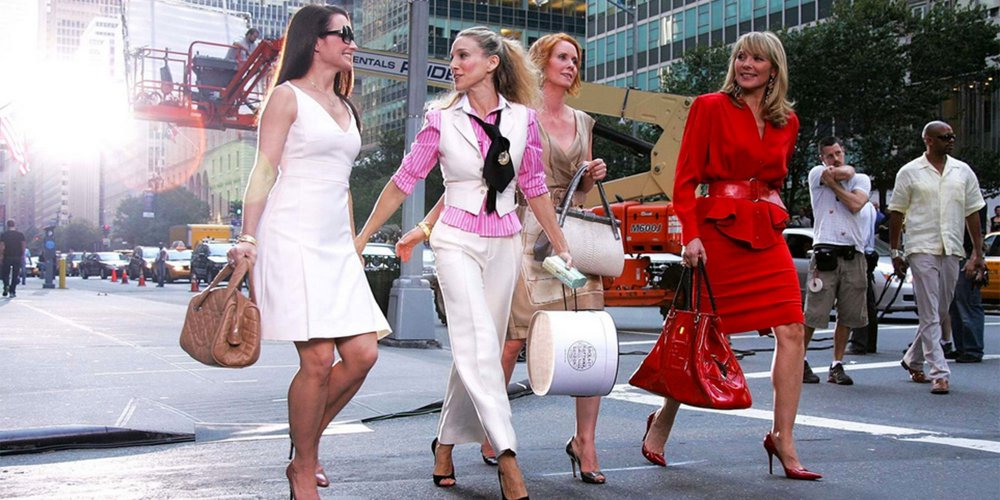 """A Little Happier: Carrie's Shoe Collection in """"Sex and the City"""" Teaches an Important Lesson About Habits."""