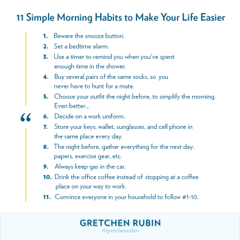 11 Simple Morning Habits to Make Your Life Easier