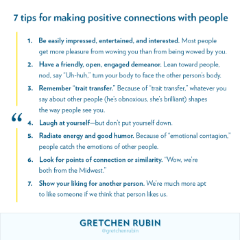 7 Tips for Making Positive Connections with People