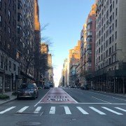 """New York City, Lexington Avenue, Rush Hour""—The Song from My COVID-19 Musical."