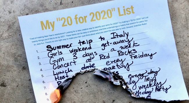 """Because 2020 Has Been Such a Hard Year, Find a Ritual to """"Exorcise 2020."""""""