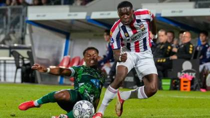 """The smile and the boldness are again with Willem II: """"Now the whole lot is distinct"""""""