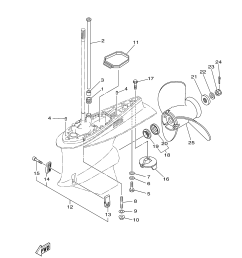 use parts diagrams to order parts diagram of 2005 t60tlrd yamaha outboard fuel injection pump 2 diagram [ 3307 x 4707 Pixel ]