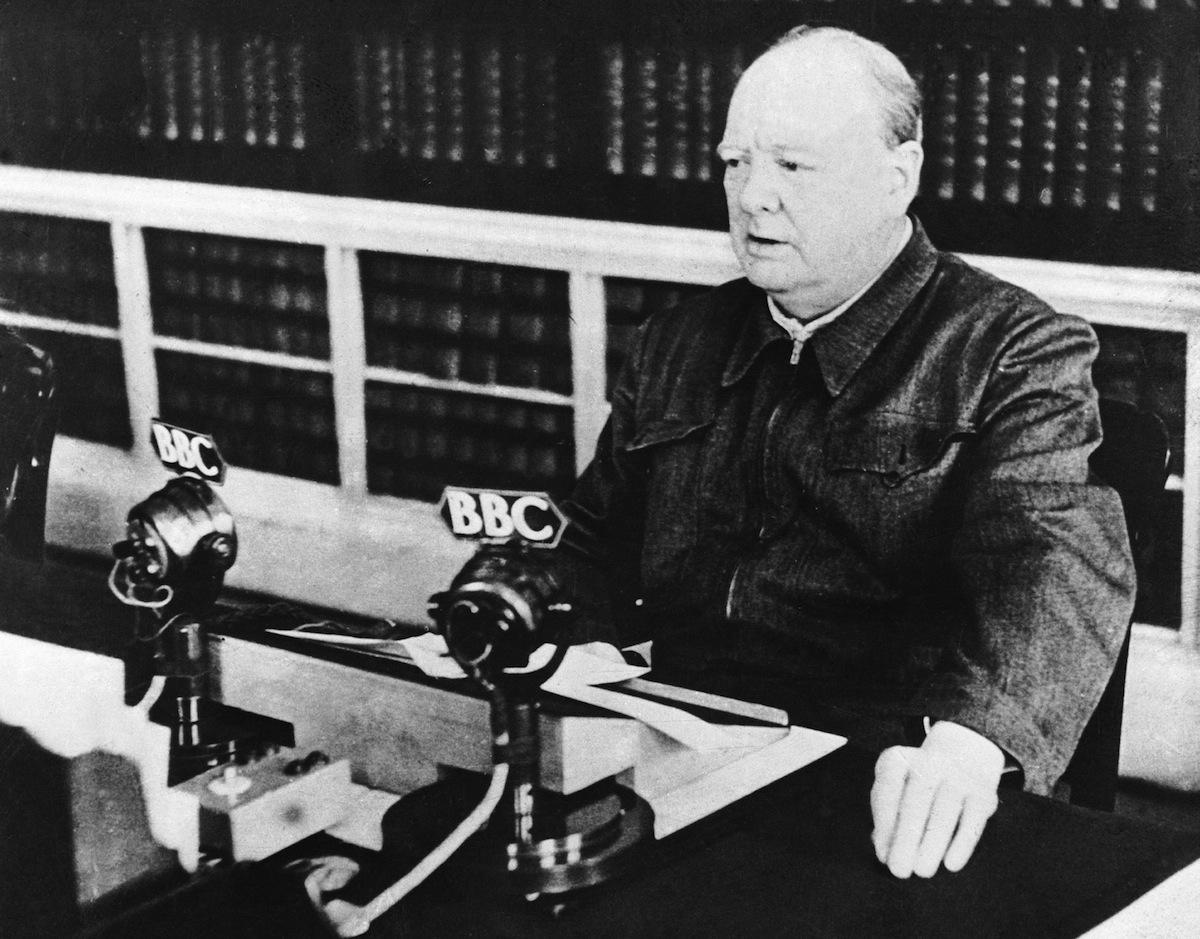 Winstron Churchill 'Blood. Toil. Tears. Sweat' Speech: TIME's Reaction   Time