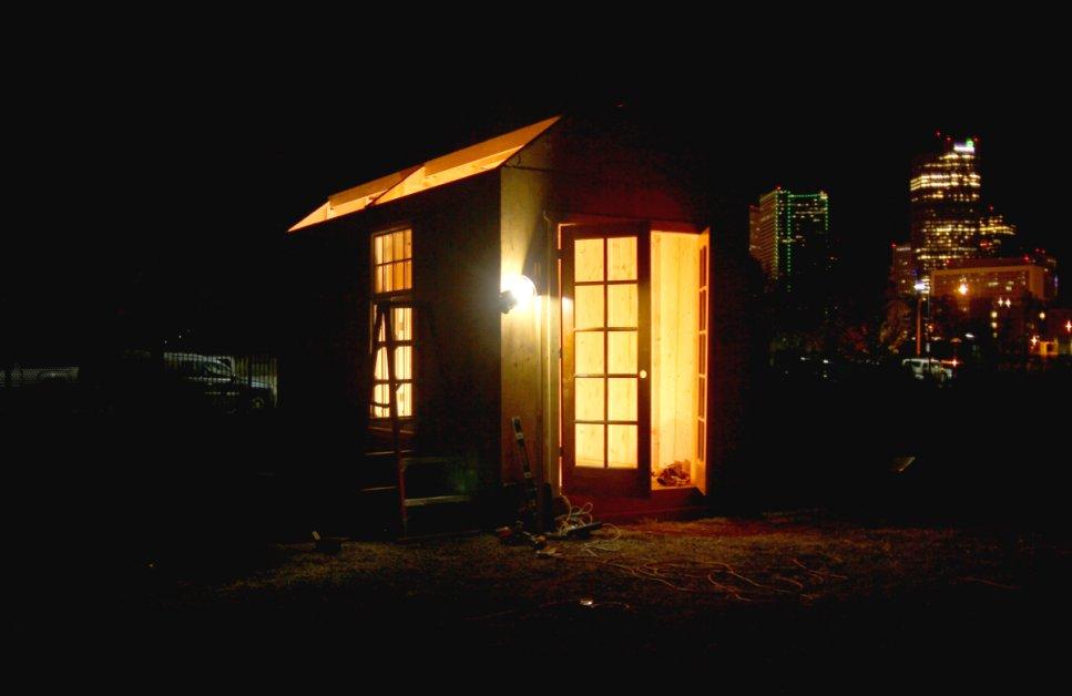 Denver Cops Arrest Tiny House Builders For Homeless In