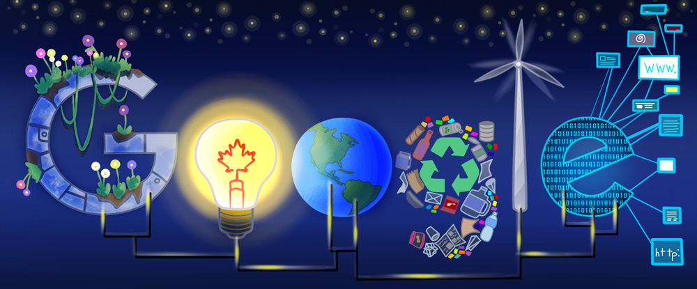 Google Doodle Contest Winner: 'A Bright Future' for Canada   Time