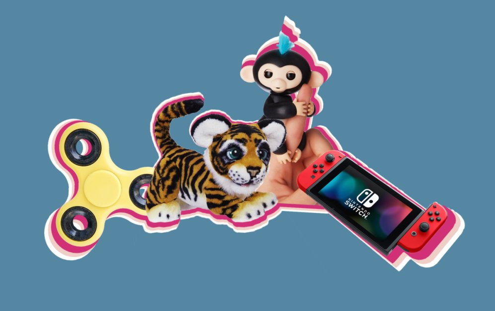 Top 10 Toys 2017 Nintendo Switch Fingerlings Hatchimals